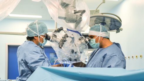 Rezecția tumorilor cerebrale folosind florescenta indusă de 5-ALA (preparatul Gliolan)