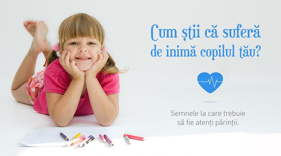 Cum ştii că suferă de inimă copilul tău? Semnele la care trebuie să fie atenţi părinţii.