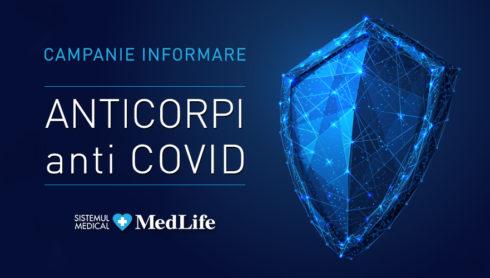 """Campanie privind orientarea persoanelor care doresc să facă """"anticorpi anti COVID"""""""