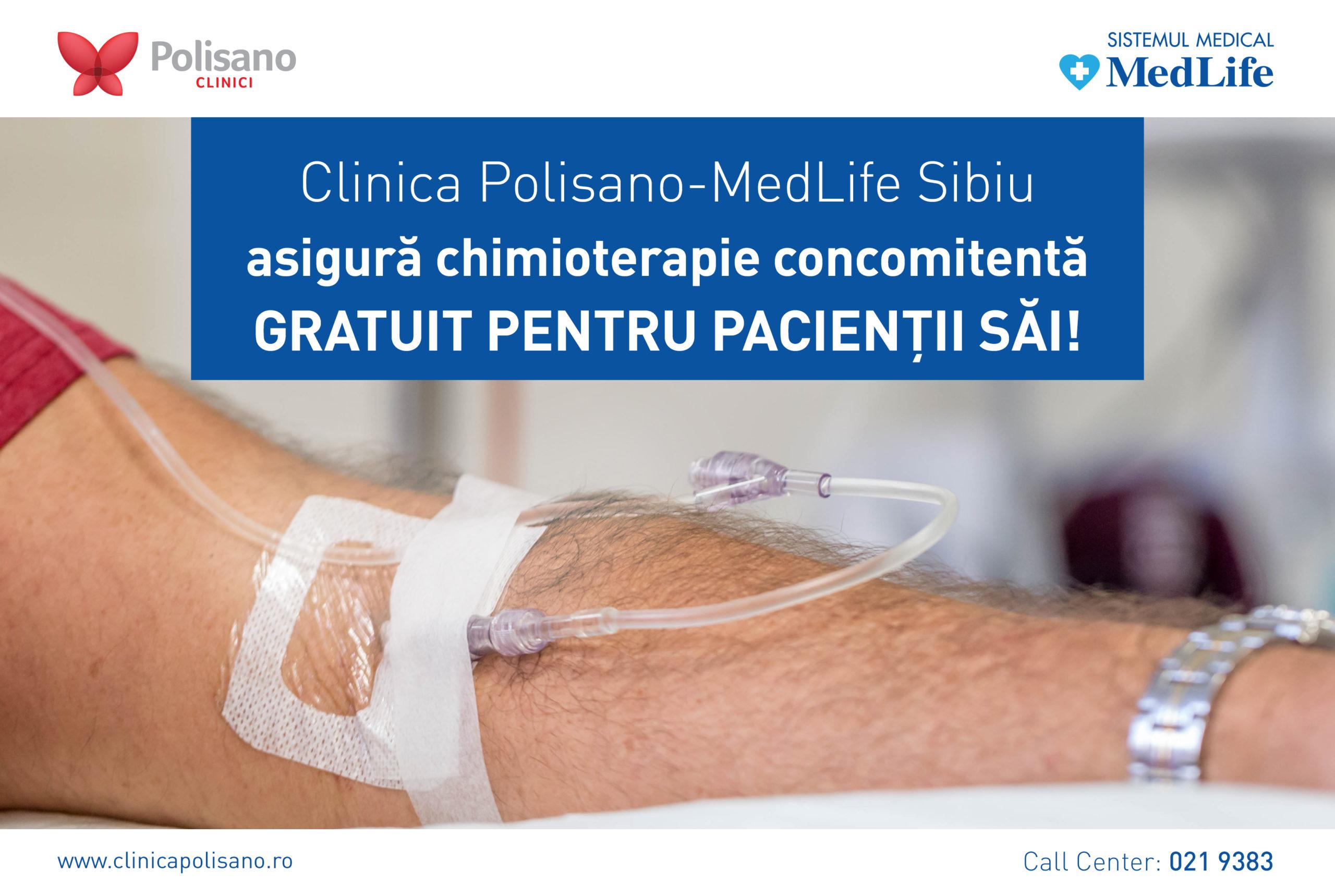 Polisano asigură gratuitate pentru pacienții care au nevoie de chimioterapie concomitenta